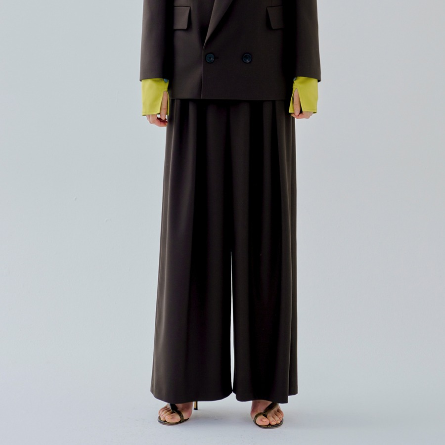 Panoi wide trousers