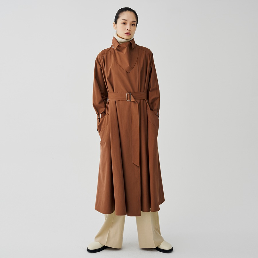 Muller trench coat