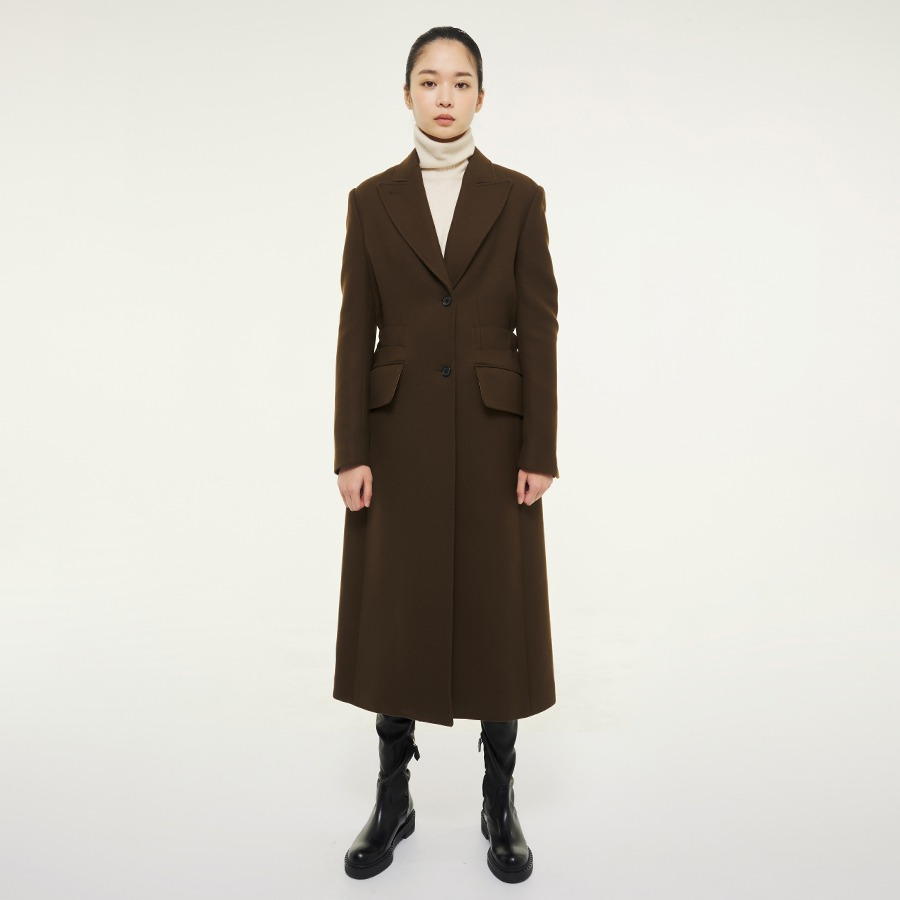 MARRY wool silk coat