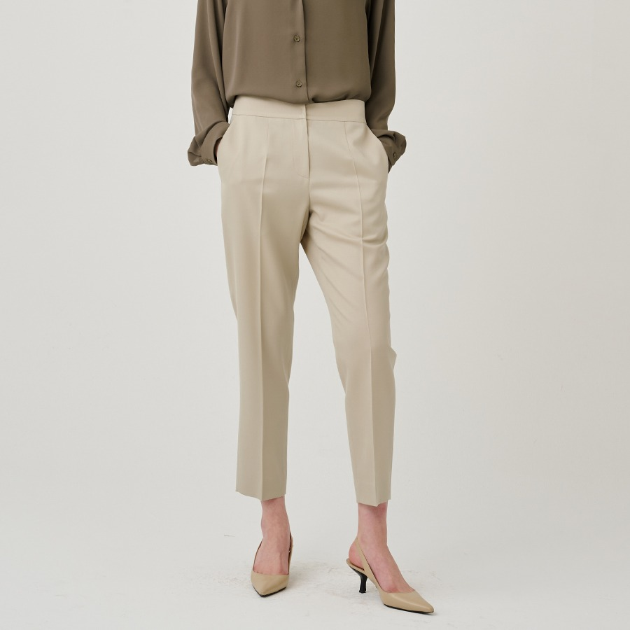 Aragon wool pants