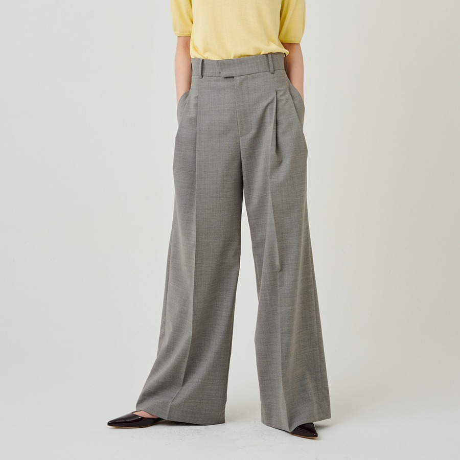 ETIEN PINTUCK PANTS