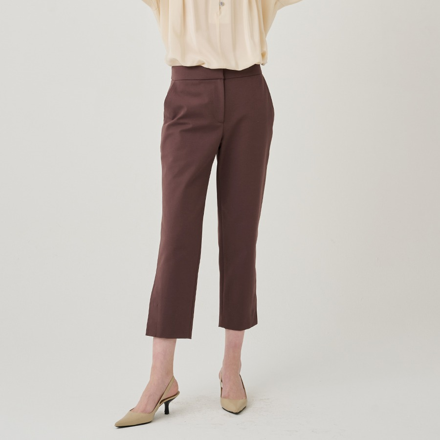 Darby crop trousers