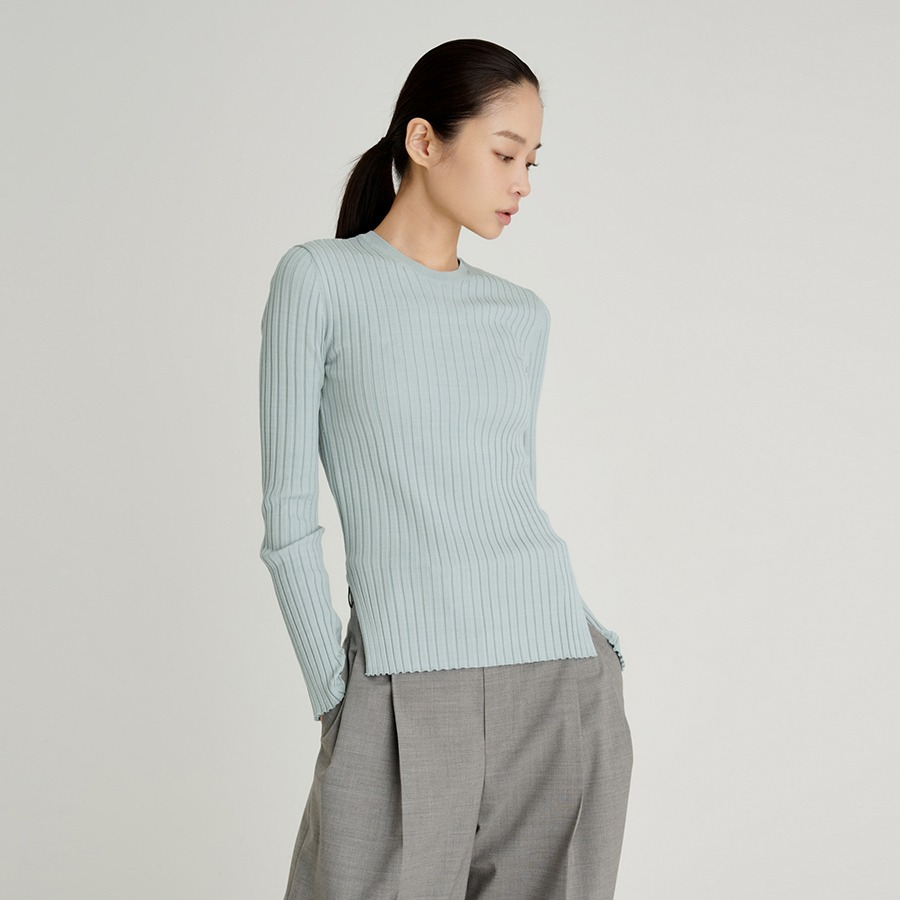 ROUND LIKE RIBBED KNIT