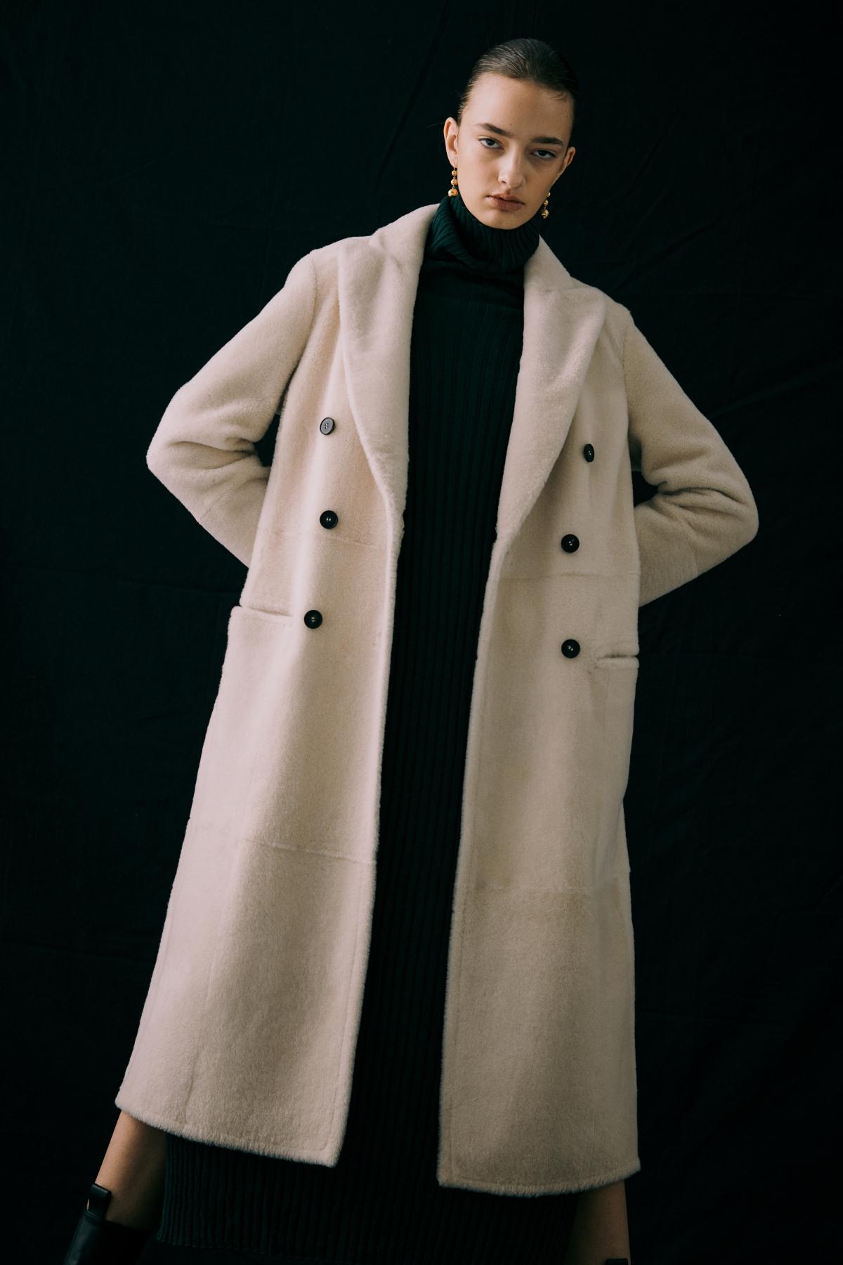 코트 모델 착용 이미지-S12L8