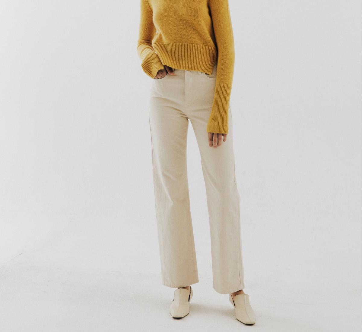 바지 모델 착용 이미지-S11L1
